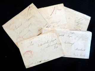 The Angier Family A Collection of Letters to a Neglected Mother. .Utica, NY.1817-1832