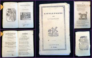 Little Poems for Little Folks. Ansel Phelps.Greenfield, MA.1847
