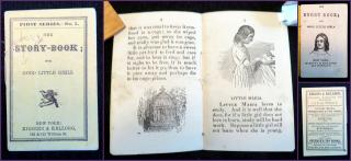 The Story Book; for Good Little Girls, First Series, No. 5 . Kiggins & Kellogg.New York, NY.[1856-1866]