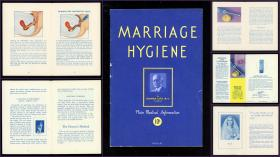 Norman Carr, M.D. Marriage Hygiene, As Prescribed by Physicians . Lanteen Laboratories, INC.,  under the auspices Medical Bureaus of Information .Chicago.1938