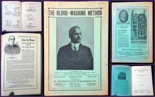 The Blood Washing Method:a restorative and creative revelation for ideal perfection. Dr. Benedict Lust Publishing Co..New YOrk.1923