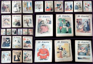 A Collection of 30 Issues of Le Sourire, A Paris Journal. .Paris, France.1900-1913