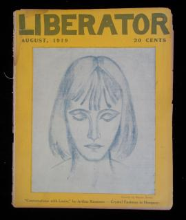 Liberator, August 1919 Edition, Vol. 2 No. 8 (Serial No. 18). Liberator Publishing Company.New York.7153