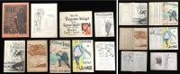 French Entertainment Imagery - Programmes, Sheet Music & Advertising. ..c1900-1910