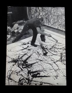 Exhibition Catalog of the work of Jackson Pollock