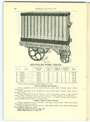 Lansing Company Truck Catalogue - Warehouse Trucks & Much More 1913