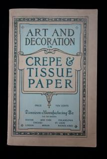 Art and Decoration in Crepe & Tissue Paper
