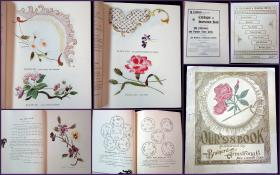 Our '98 Book: A Combined Catalogue and Instruction Book on the Subjects of Silk Embroidery and Popular Fancy Work. The Brainerd & Armstrong Company.New London, CT.1898