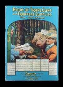 Book of Traps, Guns, and Trapper's Supplies: 1931-1932 Edition