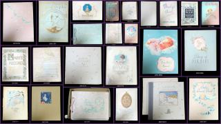 A Collection of Twenty-Four (24) Baby Books or booklets collected over a 50 year period by a single collector. ..1908-1991