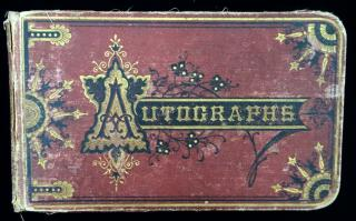 Autograph Album for Ella S. Knapp, Danbury Conn. 1878Connecticut1878-1884