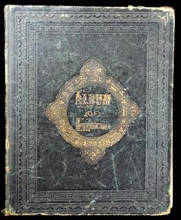 Album of Remembrance -  Mrs. Loretta Mitchell, 1863-1886. Leavitt and Allen.New York (publisher location).1861-1886
