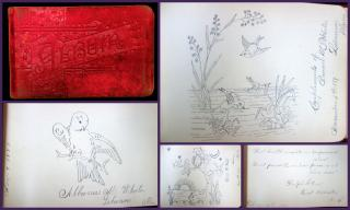 Autograph Album, Maine and New Hampshire, 1887 and 1888. ..