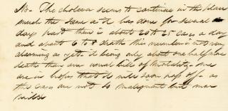 A Collection of Business Correspondence to Merchant James Beals. .Windsor, MA.1830-1838