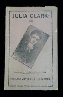 Julia Clark or the Last Victim of a Bad Woman. Old Franklin Publishing House. Philadelphia . 1870