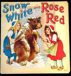 Frances Brundage Snow White and Rose Red. Stecher Litho.New York.1929