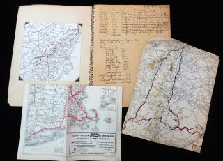Travel Log & Photo Albums Dedicated to Josh by Y Bennett and Sneed with 3 Journeys in 3 Years. 1935-1937