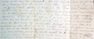 Correspondence from Gouveuneur Tillotson, Princeton student to Richard V. W. Thorne, Jr. of West Point Academy 1837-1838