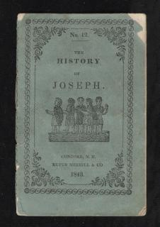 Rufus Merrill The History of Joseph . Rufus Merrill & Co..Concord.1843