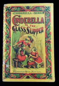 Charles Perrault . Cinderella Series: Cinderella or the Glass Slipper. McLoughlin Brothers. New York, NY. c1875