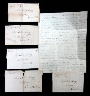 Letters of John H. Wells to Miss Julia Tracy, 1828-1829. ..