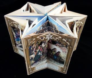 The Birth of Jesus.   Folding book Ltd Amsterdam