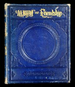 Jennie Album of Friendship, Friendship Album of Jennie, New Jersey.    . .Rahway, NJ.1874