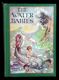 The Water Babies, a fairy story for a land baby.  Charles Kingsley John C. Winston Company Chicago 1930