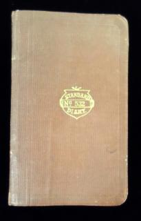 The Standard Diary  no. 532 of anonymous writer in Massachusetts.   The Standard Diary Co  1912