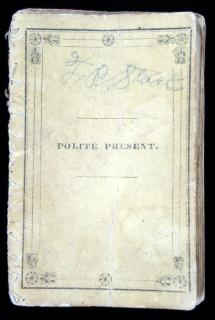 The Polite Present, or manual of good mannersMunroe and FrancisBoston 1834