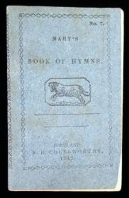 Mary's Book of HymnsAtwood & BrownConcord1847