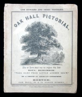 Oak Hall PictorialOak HallBoston1854