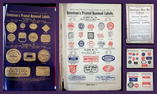 Catalog of Dennison Mfg. Co. Tags and Printed Gummed Labels, 1903.