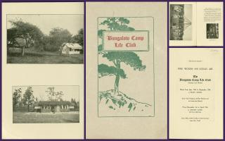 Promotional Brochure - The Bungalow Camp Life Club - Pine Woods & Ocean Air. ..c1915