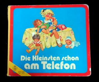Die Kleinsten Schon am Telefon (The Youngest on the Phone). Junior International.Germany.1970