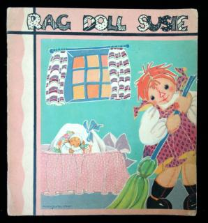 Anne Wurth, Fern Bisel Peat (Illustrator)Rag Doll Susie and Her Adventures on Laughing IslandSaalfield PublCo..AkronO.1939