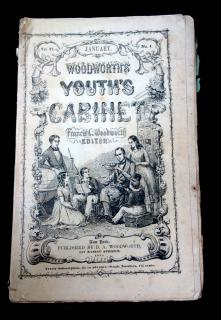 Francis L Woodworth Woodworth's Youth Cabinet, Volume 6, No. 1. D A Woodworth.New York.January 1851
