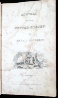 C.A. Goodrich. History of the United States. Huntington and Hopkins.Hartford.1823