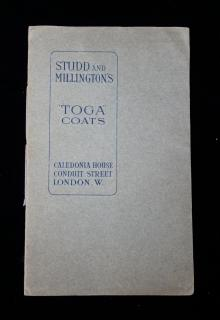 "Studd and Millinngton's ""Toga Coats"""