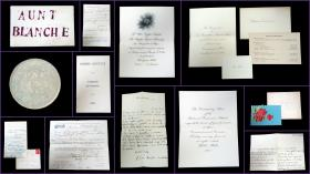 Correspondence to Blanche Annis Leavitt, a Teacher from Belmont, NH. .Belmont, NY.1897 - 1911