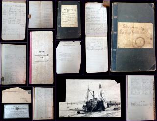 Dean Brothers Blank Book & Printing Co.  Fruit, Produce, Butter and Eggs Shipper Journals. .Chicago.1870s-1890s