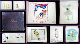 Friendship Album: Sketches, Watercolors, and Poetry, 1915-1916. .United Kingdom.