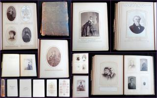 Photograph Album and Genealogy of the Marcy Family, circa 1850-1900