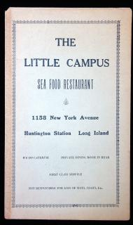 The little Campus - Sea Food Restaurant. .Huntington Station, LI, NY.c1930s