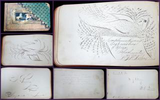 Matlida J Peterson's19th Century Autograph Friendship Album