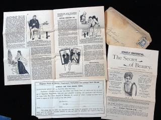 Prospectus and Promotional materials for selling Egyptian Regulator Tea. ..c1900