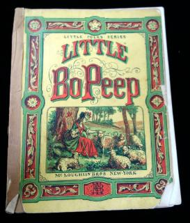 Little Folks Series, Little BoPeep. McLoughlin Brothers.New York.c1870