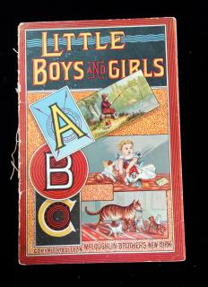 Little Boys and Girls ABC. McLoughlin Brothers.New York.1884