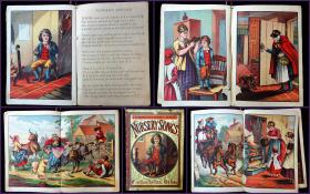 Grandmother Goose's Series: Nursery Songs. McLoughlin Brothers.New York.c1890s
