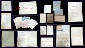 Collection of Correspondence and Memorabilia of Clara Wallower, Wellesley College, Class of 1902. .Wellesley, MA.1896-1936